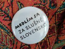 modlím sa za slušné slovensko